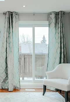 Drapery For Window Coverings, Las Flores