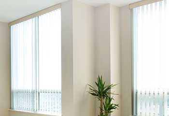 Vertical Blinds in Lake Forest | Mission Viejo Blinds & Shades, LA