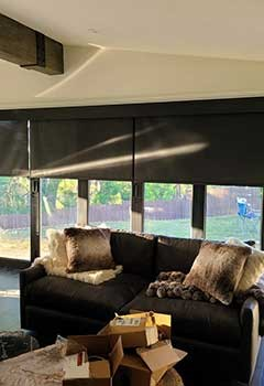 Wi-Fi Motorized Shades For Mission Viejo Home